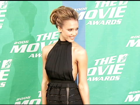 Jessica Alba at the 2006 MTV Movie Awards Red Carpet at Sony Pictures Studios in Culver City California on June 3 2006