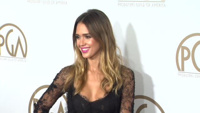 Jessica Alba at the 24th Annual Producers Guild of America Awards on 1/26/13 in Beverly Hills CA