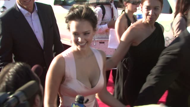 Jessica Alba at the ALMA AWARDS at Pasadena CA