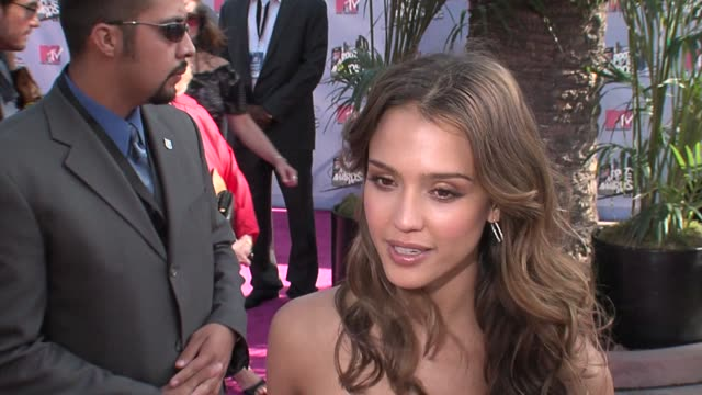 Jessica Alba at the MTV Movie Awards @ the Universal Amphitheatre at Los Angeles California