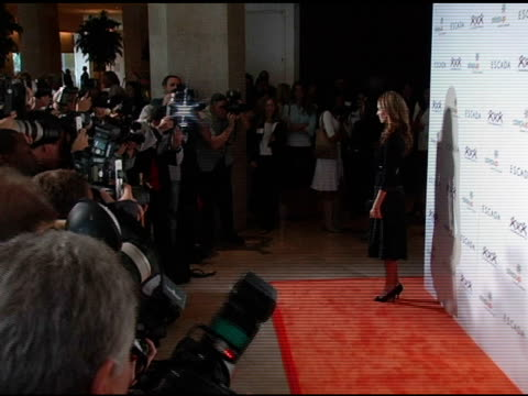 jessica alba at the step up women's network inspiration awards sponsored by escada at the beverly hilton in beverly hills california on april 27 2006 - escada stock videos & royalty-free footage
