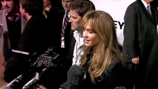 jessica alba at the the eye premiere at the cinerama dome at arclight cinemas in hollywood california on february 1 2008 - arclight cinemas hollywood stock videos and b-roll footage