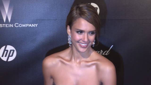 Jessica Alba at The Weinstein Company Golden Globe AfterParty at The Beverly Hilton Hotel on 1/15/12 in Los Angeles CA