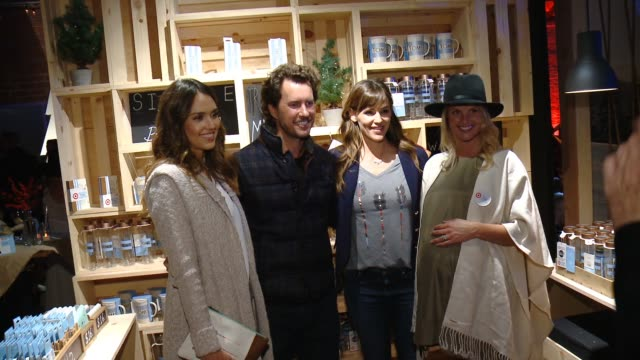 jessica alba blake mycoskie jennifer garner heather mycoskie at toms for target launch event at the book bindery on november 12 2014 in culver city... - heather stock videos & royalty-free footage