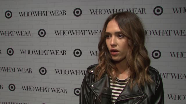 INTERVIEW Jessica Alba on supporting her friends Katherine and Hillary and their new collection at Target She loves the line and point out what she's...