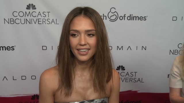 INTERVIEW Jessica Alba on what it means to be receiving this honor her favorite memories from her pregnancies the most rewarding part of being a...