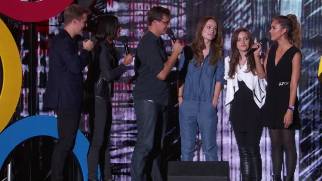 SPEECH Jessica Alba talks about young people making a difference introduces Tiesto performance at 2014 Global Citizen Festival in Central Park at...