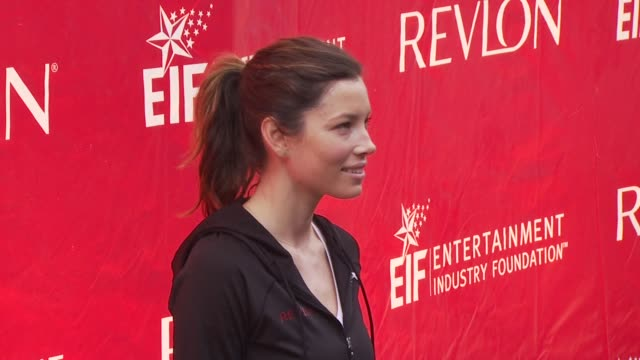 Jessica Biel at the 13th Annual EIF Revlon Run/Walk For Women at New York NY