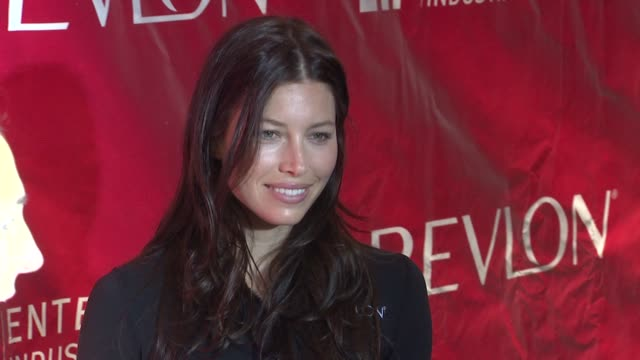 jessica biel at the 14th annual entertainment industry foundation revlon run/walk for women at new york ny - revlon stock videos and b-roll footage