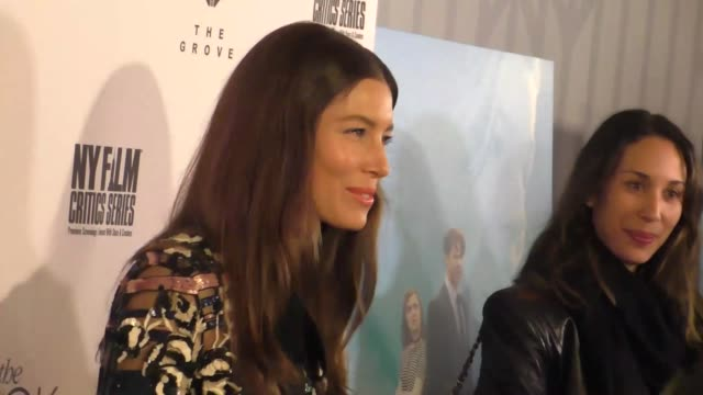 "jessica biel at the ""the book of love"" los angeles premiere at pacific theatre at the grove on january 10, 2017 in los angeles, california. - the grove los angeles stock videos & royalty-free footage"