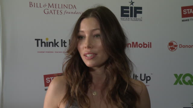 INTERVIEW Jessica Biel on her favorite thing about school on how important it is to follow your passions on inspiring teachers and students at the...