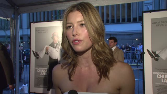 Jessica Biel on what it was like to be a part of the cast working with Adam Sandler and Kevin James how she dealt with being one of the few females...