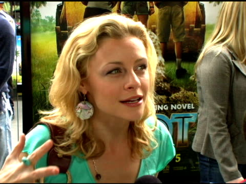 jessica cauffiel on her favorite aspects about being apart of this project, on the powerful and playful premise, on the attitude the cast kept... - pacific war stock-videos und b-roll-filmmaterial