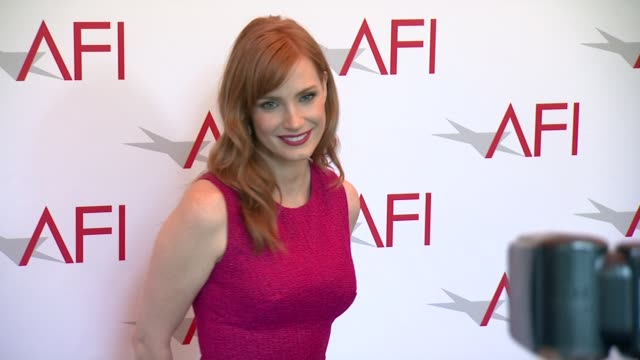 Jessica Chastain at 2015 AFI Awards Luncheon at The Four Seasons Hotel on January 09 2015 in Beverly Hills California