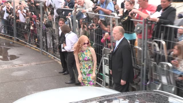 Jessica Chastain at Celebrity Sightings 65th Cannes Film Festival 2012 on May 18 2012 in Cannes France
