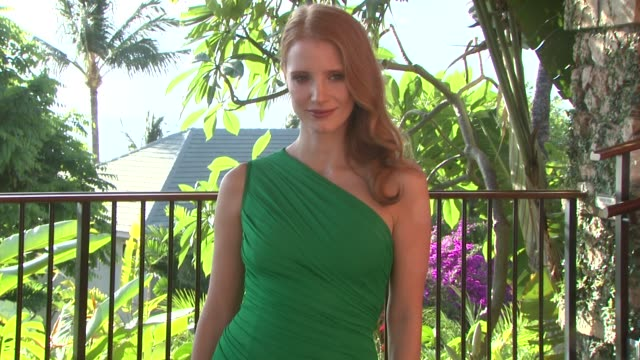Jessica Chastain at the 2013 Maui Film Festival at Wailea Jessica Chastain at the 2013 Maui Film Festival at on June 12 2013 in Wailea Hawaii