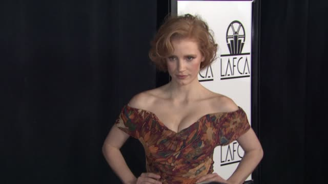 Jessica Chastain at The 37th Annual Los Angeles Film Critics Association Awards on 1/13/2012 in Century City CA