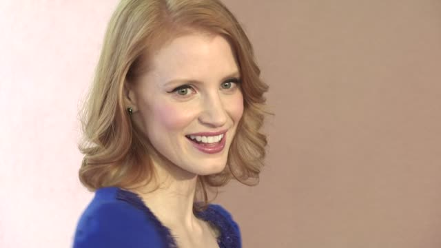 Jessica Chastain at the Hollywood Foreign Press Association Annual Luncheon at Beverly Hills CA