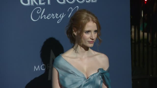 Jessica Chastain at The Hollywood Reporter Nominees' Night 2012 on 2/23/2012 in Los Angeles CA