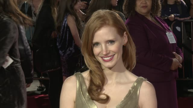 Jessica Chastain at the 'I Am Number Four' Premiere at Westwood CA