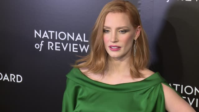 Jessica Chastain at The National Board of Review Gala honoring the 2015 Award Winners at Cipriani 42nd Street on January 05 2016 in New York City