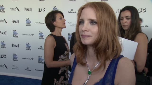 INTERVIEW Jessica Chastain on her new role as honorary chair at the Spirit Awards On her Piaget necklace On what she loves about Piaget On her role...