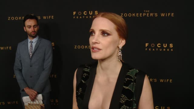 INTERVIEW – Jessica Chastain on why this story needed to be told on the big screen her favorite part of playing this character and why this is both a...