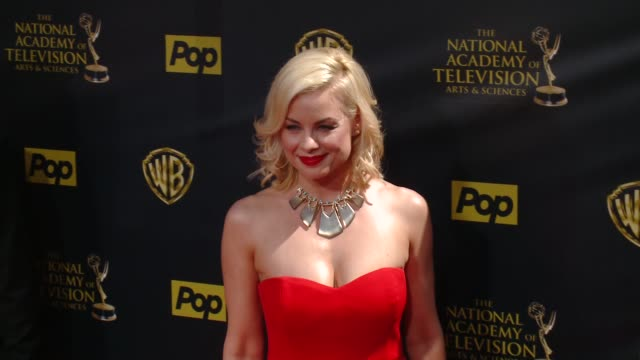 Jessica Collins at 42nd Annual Daytime EMMY Awards at Warner Bros Studios on April 26 2015 in Burbank California