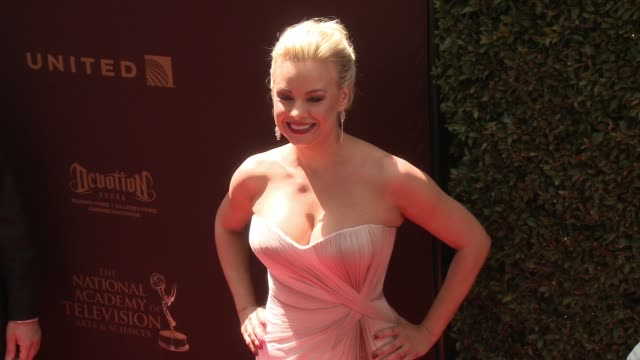 Jessica Collins at 43rd Annual Daytime Emmy Awards at Westin Bonaventure Hotel on May 01 2016 in Los Angeles California