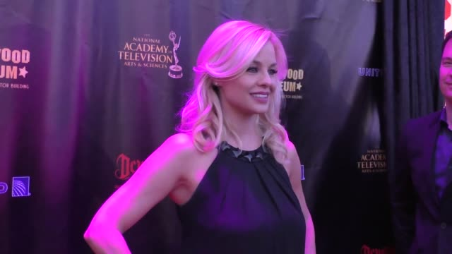 Jessica Collins at the 2016 Daytime Emmy Awards Nominees Reception at The Hollywood Museum in Hollywood in Celebrity Sightings in Los Angeles