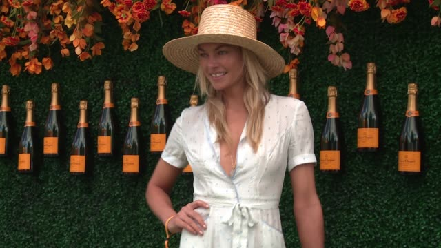 Jessica Hart at TenthAnnual Veuve Clicquot Polo Classic at Liberty State Park on June 03 2017 in Jersey City New Jersey
