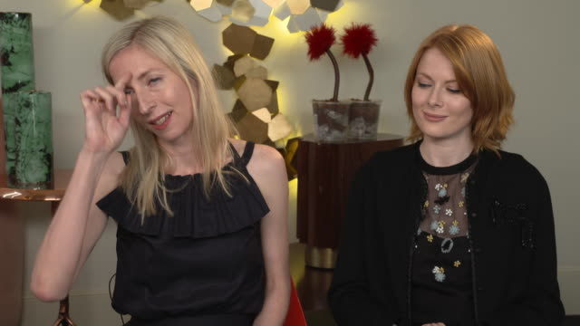 Jessica Hausner and Emily Beecham Director and Actress on this being a 'female Frankenstein' story on May 18 2019 in Cannes France