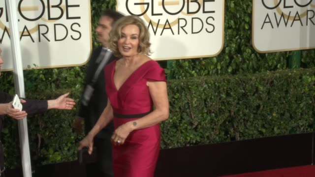 Jessica Lange at 72nd Annual Golden Globe Awards Arrivals at The Beverly Hilton Hotel on January 11 2015 in Beverly Hills California