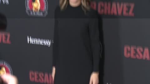 """jessica lindsey - """"cesar chavez"""" los angeles premiere at tcl chinese theatre on march 20, 2014 in hollywood, california. - tcl chinese theatre stock videos & royalty-free footage"""