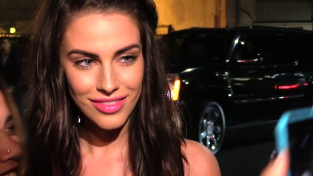 Jessica Lowndes arriving at the Vanity Fair Fiat Young Hollywood in Hollywood in Celebrity Sightings in Los Angeles