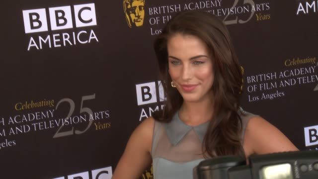 Jessica Lowndes at BAFTA LA TV Tea 2012 Presented By BBC America on 9/22/2012 in West Hollywood CA