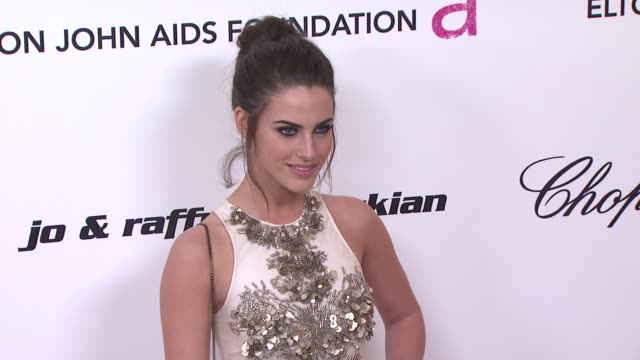 Jessica Lowndes at the 19th Annual Elton John AIDS Foundation Academy Awards Viewing Party Part 2 at West Hollywood CA