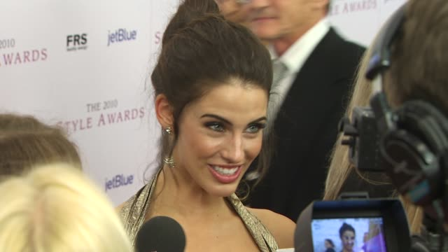 Jessica Lowndes at the 2010 Hollywood Style Awards at Los Angeles CA