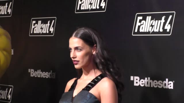 Jessica Lowndes at the Fallout 4 Video Game Launch Event in Downtown Los Angeles in Celebrity Sightings in Los Angeles