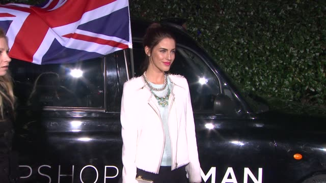 Jessica Lowndes at Topshop Topman LA Opening Party At Cecconi's on 2/13/2013 in Los Angeles CA