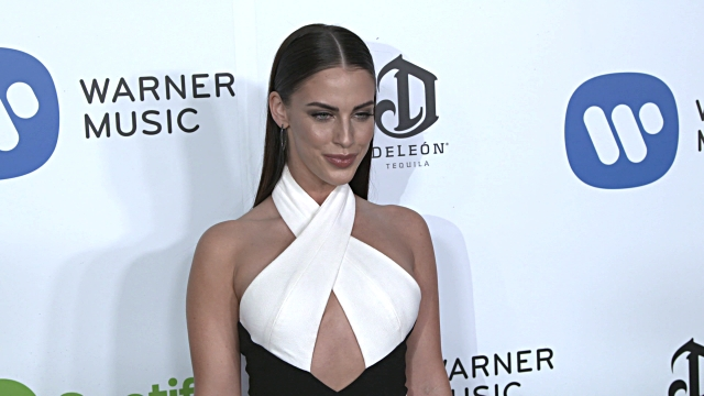 Jessica Lowndes at Warner Music Group Hosts Annual Grammy Celebration in Los Angeles CA