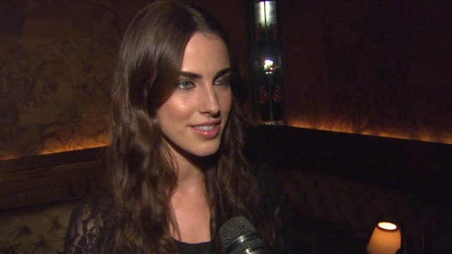 Jessica Lowndes on being a Clos du Bois fan and enjoying the wine at Clos du Bois Rouge Los Angeles Launch on 8/22/12 in Los Angeles CA