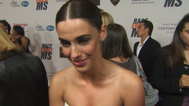 Jessica Lowndes on being a part of the night if she's walking in the show her advice for those who are walking the catwalk who she's wearing at the...