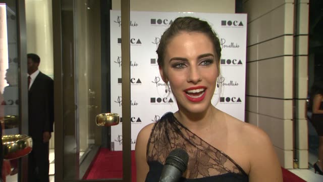 Jessica Lowndes on being a part of the night why it's a fitting location for Pomellato what she looks for in jewelry and her favorite pieces she...