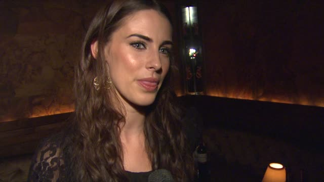 Jessica Lowndes on her character on 90210 at Clos du Bois Rouge Los Angeles Launch on 8/22/12 in Los Angeles CA