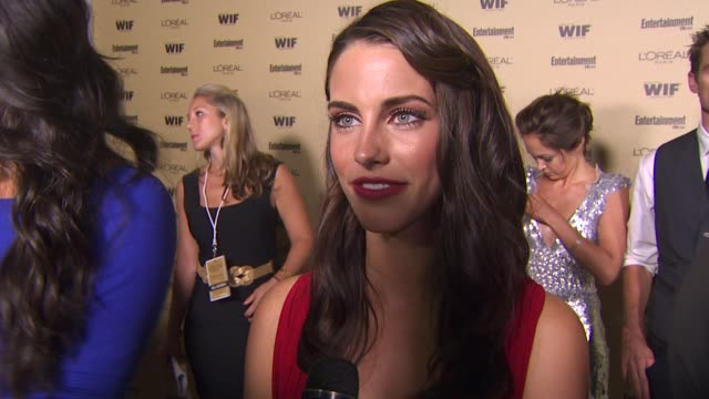 Jessica Lowndes on starting off the Emmy weekend with the Entertainment Weekly and Women in Film party on the excitement around Emmy week on her...