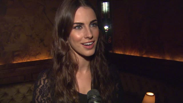 Jessica Lowndes on the Clos du Bois event and meeting the winemaker at Clos du Bois Rouge Los Angeles Launch on 8/22/12 in Los Angeles CA
