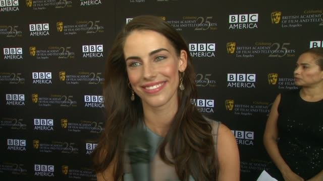 Jessica Lowndes on what brings her out at BAFTA LA TV Tea 2012 Presented By BBC America on 9/22/2012 in West Hollywood CA