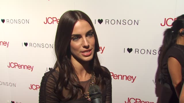 Jessica Lowndes on what brings her out tonight her thoughts on the collaboration the benefits of working with family being a fan of concert tshirts...