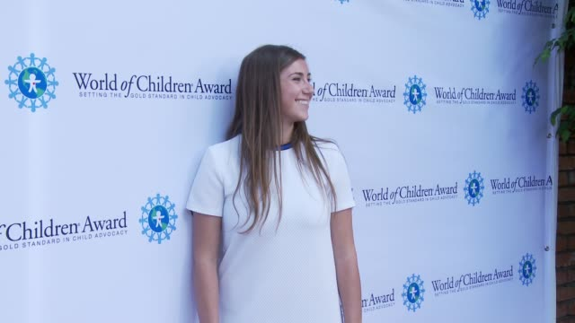 Jessica Markowitz at World of Children Awards 2015 Alumni Honors Il Cielo in Los Angeles CA